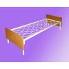 Металлические кровати для бытовок,  кровати металлические для санаториев.  Оптом.